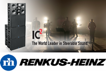 LARGE VENUE SPEAKER SYSTEMS RENKUS-HEINZ